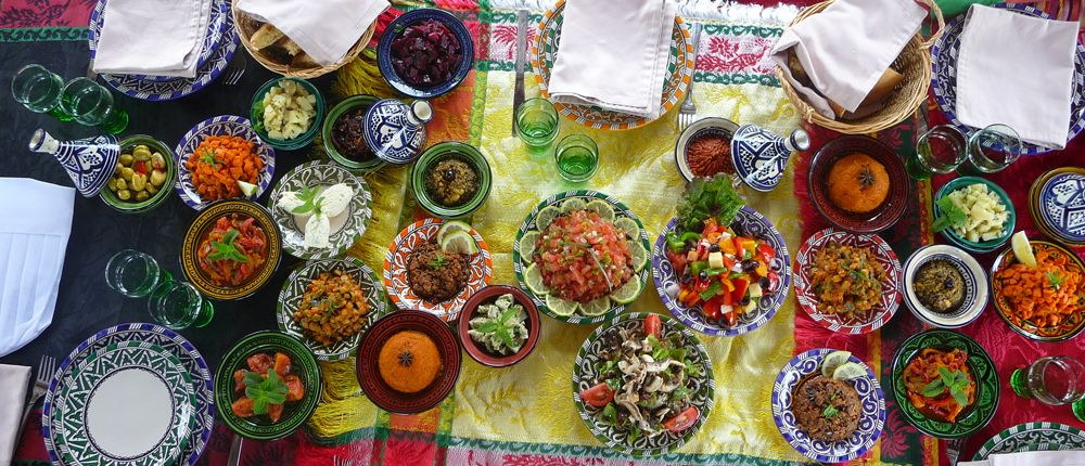 Atelier cuisine au naturel en demi journ e marrakech for Atelier cuisine marrakech