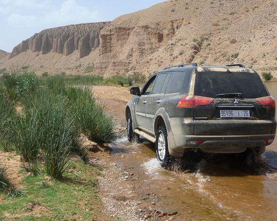 Excursion en 4x4 au depart de Marrakech vers l'atlas