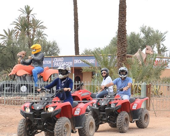 Quad marrakech palmeraie