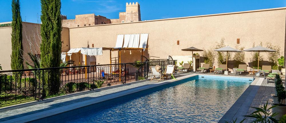 Couscous piscine 1j avec d jeuner for Riad essaouira avec piscine